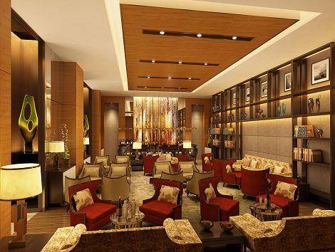 饭店内部装潢由香港著名的饭店设计公司chhada